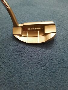 TOUR ISSUE ODYSSEY WHITE HOT BUTANE FINISH TUNGSTEN WEIGHT PORT PUTTER PROTOTYPE