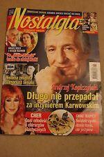 Nostalgia 10/2016 Cher, Grace Kelly, Andrzej Wajda, Star Wars - Polish Magazine