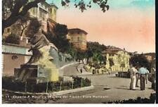 IMPERIA PORTO MAURIZIO - VIALE MATTEOTTI - Cartolina viaggiata nel 1950