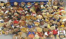 The Teddy Bear Collection Soft Plush Teddies bundle x 60 assorted bears - tagged