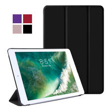 Magnetic Smart Stand Cover Back Hard Case for Apple iPad 2 3 4 5 6 2018 mini Air