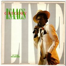 GREGORY ISAACS-live at the academy    kingdom LP   (hear)   reggae