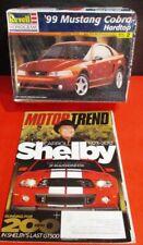 *NOS!* REVELL 1999 MUSTANG COBRA MODEL & Carroll Shelby MOTOR TREND MAGAZINE!