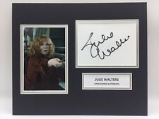 RARE Julie Walters Harry Potter Signed Photo Display + COA AUTOGRAPH WEASLEY