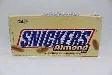 24 x American Snickers Almond from American Goodies USA Import Free UK Delivery