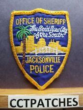 JACKSONVILLE, FLORIDA OFFICE OF SHERIFF POLICE SHOULDER PATCH FL