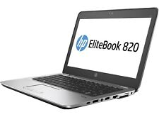 PC PORTATILE HP ULTRABOOK 820 SSD CORE I5 8GB TASTIERA RETROILLUMINATA WIN 10