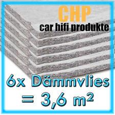 6x dämmvlies 3,6m² autoadesivo CHP 10mm auto isolamento acustico AUTO TAPPETINI 6