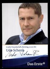 Udo Schenk In aller Freundschaft Autogrammkarte Original ## BC 45637