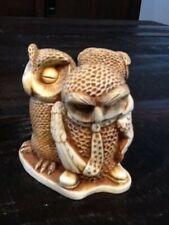 Harmony Kingdom 3 Wise Guys Owl Trinket Box