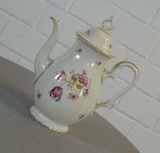 Rosenthal Chippendale Porzellan Kanne Kaffeekanne Teekanne Art Deco 40er Jahre