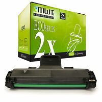 2x Eco Cartuccia Sostituita Samsung MLT-D1082S/Els 1082S