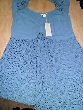 Timeless GHOST Stunning Blue Dress/ Tunic BNWT UK 12