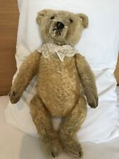 1950 Steiff Blond Bear With Working Growler 16in