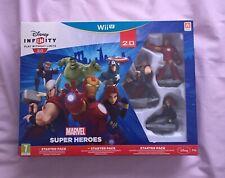 DISNEY INFINITY 2.0. STARTER PACK. MARVEL SUPERHEROES. COMPLETE IN BOX. WiiU