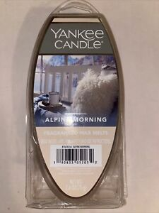 Yankee Candle Alpine Morning Frangranced Wax Melts