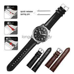 Quick Fit Silicone Sport 20mm 22mm Watch Band Strap Bracelet for Fossil Watch