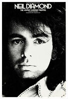 Neil Diamond 1972 concert poster print