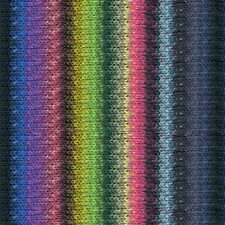 NORO ::Taiyo #88:: cotton silk wool yarn Lemon-Rose-Violet-Blues-Forest-Navy