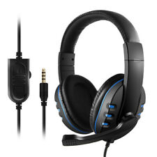 Gaming Headset Surround Stereo Headphone OverEar MIC 3.5mm for PC Laptop Desktop