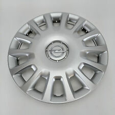 "GENUINE Opel Adam / Corsa D & E Silver 14"" Steel Wheel Trim Hub Cap GM 13211852"