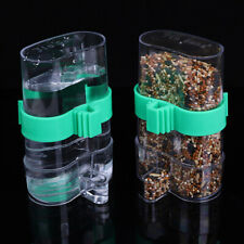 FM_ KE_ Automatic Water Trap Birds Cage Supplies Feeder Parrot Drinking Fountain