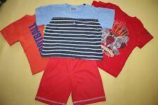 TOPOLINO H&M PRE´NATAL  Kinder T-Shirt Shorts 4-tlg Set  BAUMWOLLE Gr. 86
