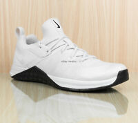 Nike Metcon DSX Flyknit 3 Training Shoes White Black AQ8022 100 Men's size 11