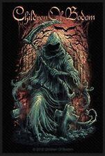 Children Of Bodom Reaper Woven Patch C019P Amon Amarth Dream Theater Dragonforce