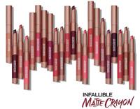 Loreal Infallible Matte Lip Crayon, You Choose