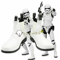 HOT ! Star Wars The Force Awakens Stormtrooper White Short Boots Cosplay Shoes