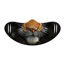 The Mountain Tiger Big Cat Animal Adult Face Covering with Ear Slits