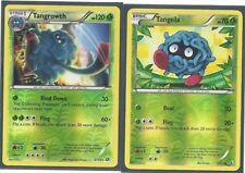 RARE TANGROWTH & TANGELA -2 EVOLUTION LEGENDARY TREASURES Pokemon REV HOLO NM/M