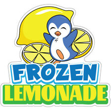 Frozen Lemonade Decal Concession Stand Food Truck Sticker