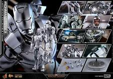 Hot Toys 1/6 Marvel Iron Man 2 MMS431D20 Mark II Mk2 Die-Cast Action Figure