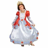 Dress Up America Girls Kids Deluxe Venice Princess Fancy Roleplay Costume Set
