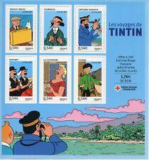 STAMP / TIMBRE FRANCE BLOC N° 109 ** LES VOYAGES DE TINTIN
