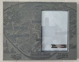 """Disneyland Park Opening Day Map 4x6"""" Picture / Photo Frame"""
