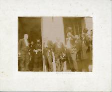 Réception à Argenteuil, Albert Besnard  Vintage silver print,Albert Besnard, n