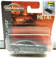 Majorette Audi A5 Coupe Grey 1/64 237C Wheel 5Y Short  Package Free Display Box