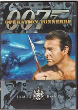 DVD james bond 007 OPERATION TONNERRE sean connery