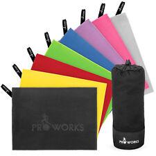 Proworks Microfiber Towel | Large Travel Bath Sports Beach Gym Camping Towel