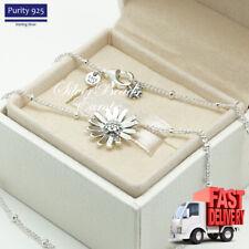Pandora Pave Daisy Flower Collier Necklace, Clear CZ, 398964C01, 45 cm Chain