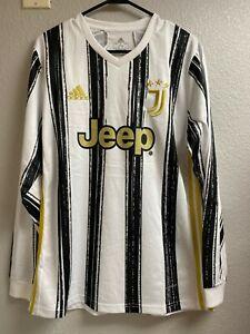 New Cristiano Ronaldo jersey Juventus home 2020-21 Long Sleeve Size Adult Medium