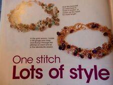 Bead Style Leather Wrap Bracelets Nefertiti Necklace   28 Projects