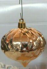 Vintage, 5, PLASTIC SILVER TEAR DOPE ORNAMENT, (Per-owned)