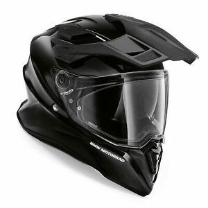 BMW GS Pure Motorrad Motorcycle Full Face Crash Helmet Night Black