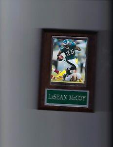 LeSEAN McCOY PLAQUE PHILADELPHIA EAGLES FOOTBALL NFL