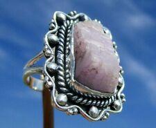Kunzit - Kristall - Ring Gr. 18 - Silber 925 !