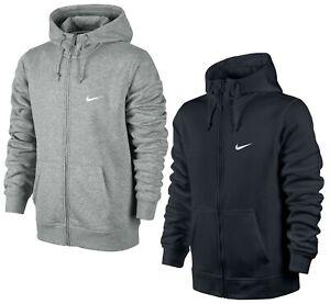 Men's Nike Hoodie Hoody Hooded Sweatshirt Jumper Pullover Fleece Zip Jacket